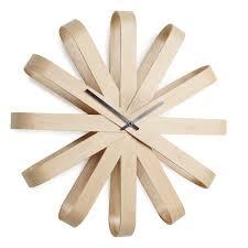 horloge murale engrenage horloge design et elegante coloris blanc horloge de table 2 la