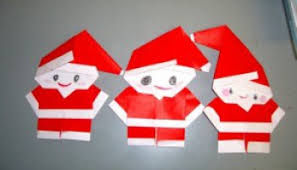 How To Make A Origami Santa - japanese origami make a ornament with origami