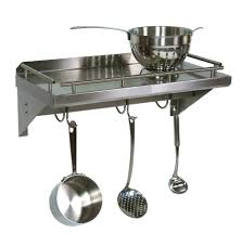 Hanging Pot Rack In Cabinet by Kitchen Pot Racks Pots And Pans Rack Cabinet Pots And Pans