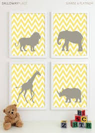 baby boy nursery art safari nursery art jungle nursery art