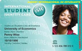 photo card isic international student identity card kilroy
