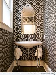 wallpapered bathrooms ideas 152 best wallpapered bathrooms images on bathroom