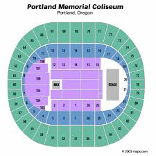 portland memorial coliseum seating chart portland memorial