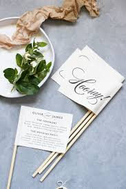 make your own wedding program and festive program flags plus a free wedding program