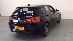 black bmw 1 series bmw 1 series 116d sport black 2016