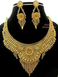 new jewelry designer gold plated party fashion necklace earring new