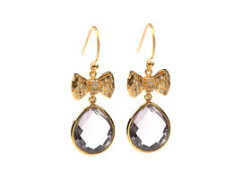 pretty earrings syster p oh so pretty earrings gold pink amethyst