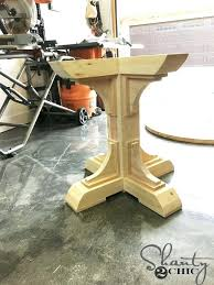 How To Build A Table Top How To Build A Table Base For A Granite Top Build A Custom Round