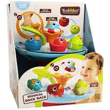 yookidoo musical duck race with auto fountain water pump baby yookidoo musical duck race with auto fountain water pump baby shower kids bath toy