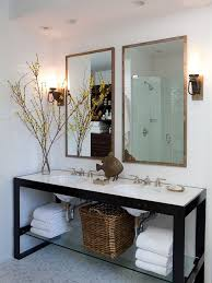 Bath Vanities Chicago To Da Loos Nate Berkus Chicago Condo Bathrooms Metal And Wood