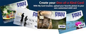 customized debit cards order debit card state bank