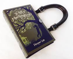 Book Report On To Kill A Mockingbird To Kill A Mockingbird Recycled Book Purse Leather Bound Book