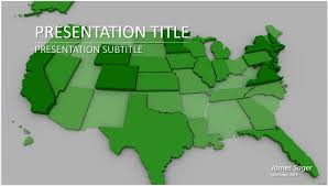 map of us for powerpoint free map powerpoint template presentation
