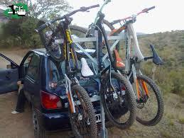 porta mtb auto un porta bicis caserito en catamarca catamarca argentina foto