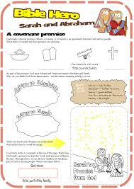 worksheet for sarah and abraham covenant promise genesis 17