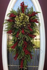 teardrop wreaths wreath winter wreath