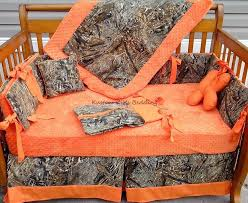 Mossy Oak Baby Bedding Crib Sets by Orange Crib Bedding Sets Spillo Caves
