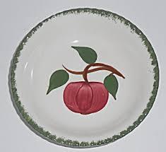 zylstra china1800 fruit bouquets blue ridge southern potteries quaker apple fruit bowl