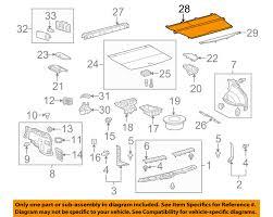 lexus rx 350 toyota equivalent lexus toyota oem 14 15 rx350 box bed tonneau cover 649100e071c0 ebay