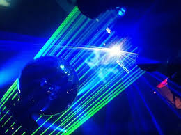 ball with light inside laser light and disco ball inside picture of dj station bangkok