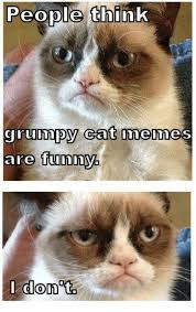 Best Grumpy Cat Memes - people think grumpy cat memes are funny i don ta meme on me me