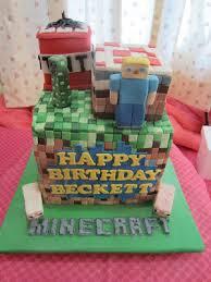 minecraft birthday cake ideas home may de cakes the minecraft cake