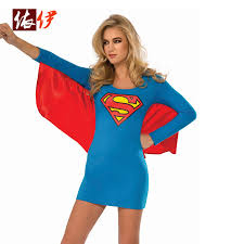 Halloween Costumes Supergirl Buy Wholesale Superheros Suit Supergirl China