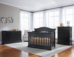 convertible crib set crib and dresser set black oberharz