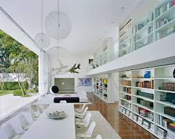 beautiful modern home library interior design ideas interior