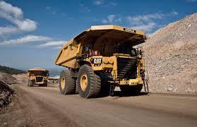 rigid dump truck diesel mining and quarrying 793f