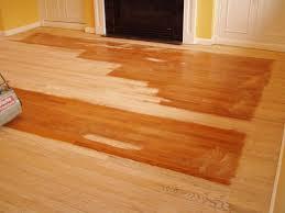 Refinishing Hardwood Floors Diy Awesome Finest Refinishing Hardwood Floors Applying Polyurethane