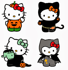 hello kitty halloween clipart clipartsgram com