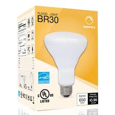 8w dimmable br30 led bulb 65w halogen equivalent torchstar