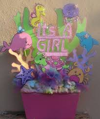 under the sea baby shower theme main centerpiece birthday party