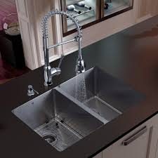 Sinks Extraordinary Modern Kitchen Sink Contemporary Stainless - Double kitchen sink