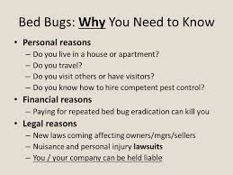 Can Bed Bugs Kill You Bed Bugs For Realtors What You Need To Know Pennsylvania