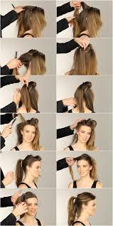 Frisuren Lange Haare Toupiert by Pferdeschwanz Frisuren Anleitung Haare