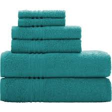 Aqua Towels Bathroom Teal Bathroom Towels Amazon Com
