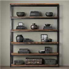 etagere ferro fran礑ais loft am礬ricains r礬tro biblioth礙que 礬tag礙res vitrine bois