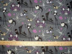 details about nightmare before 100 cotton fabric by the