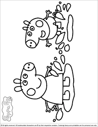 coloring pages peppa the pig peppa pig coloring pages in the coloring library michaila s party