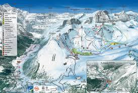 Alps On A Map Pistenplan Skigebiet Gavarnie Gèdre Liftplan Pisten Und Lifte