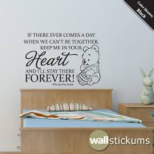 Nursery Sayings Wall Decals Nursery Wall Decal Quote Winnie The Pooh By Wallstickums