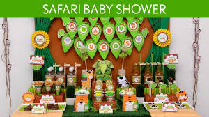 Baby Shower Decoration Ideas Safari Baby Shower Decorations Decorating Of Party