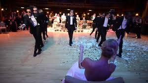 ballerina wedding surprise groomsmen dance youtube