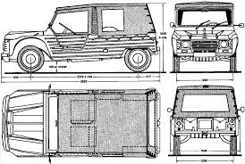 citroen mehari citroen mehari 1969 blueprint download free blueprint for 3d