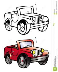 jeep front silhouette clipart black and white jep