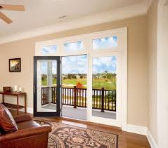 jeld wen wood swinging patio doors chestnut bronze transoms low e