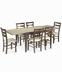 Macy S Dining Room Furniture Café Latte Glass Top Dining Table Furniture Macy S