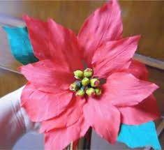 how to make paper flower poinsettia christmas star flower 25